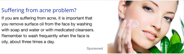 Suffering from Acne Problem